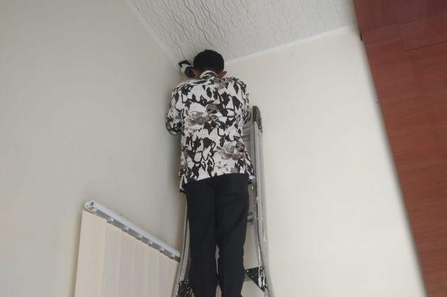 PERBAIKAN CCTV DI DINAS PEKERJAAN UMUM DAN PENATAAN RUANGAN