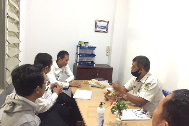 Rapat Tentang Pembuatan JDIH DPRD yang Terintegrasi Dengan Kantor Pusat di Dinas Komunikasi dan Informatika