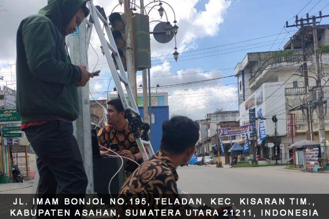 Perbaikan CCTV Titik Lokasi Jalan Imam Bonjol Kecamatan Kota Kisaran Barat