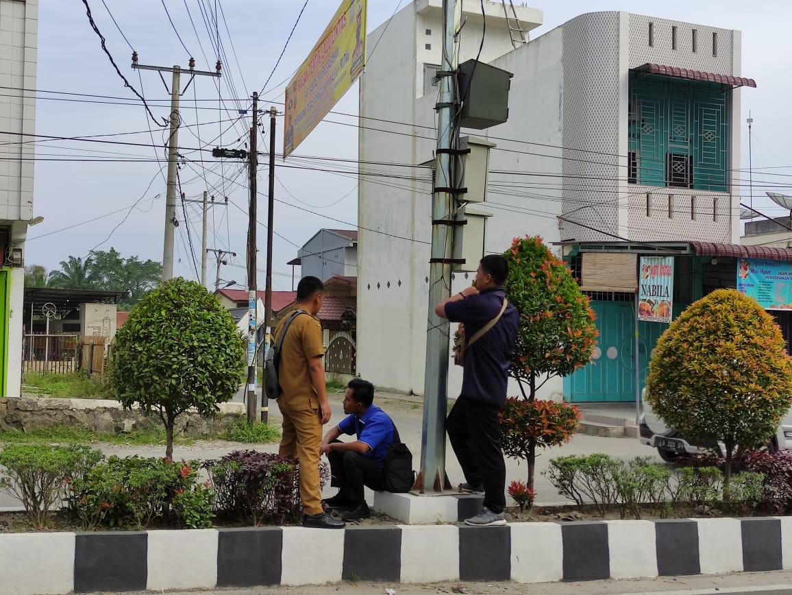 PENGECEKAN CCTV TITIK LOKASI JALAN IMAM BONJOL PANGKAL TITI