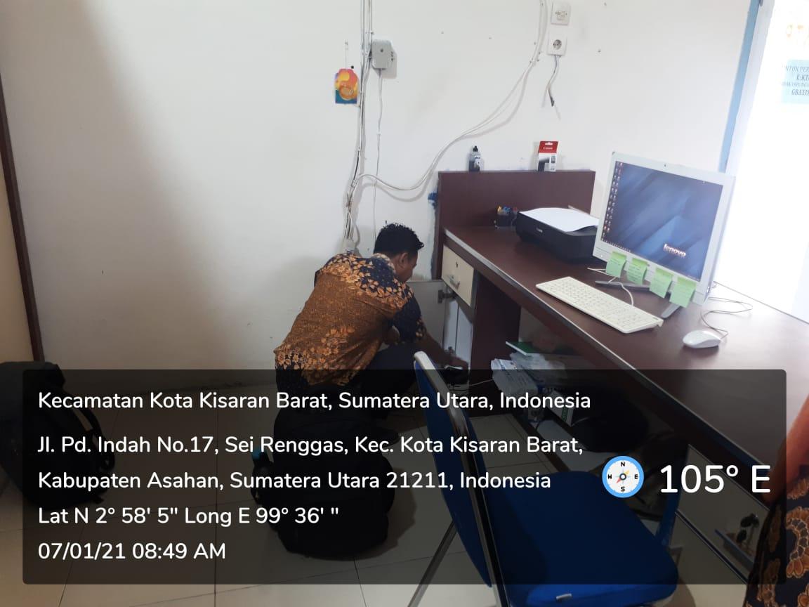 Perbaikan Koneksi Internet di Kecamatan Kisaran Barat